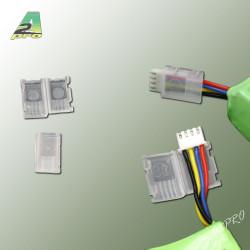 Protection connecteur male JST/XH 2S (10 pcs) (12143)