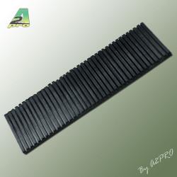 Liston caoutchouc 300x10mm epaisseur 8.50mm (210424)