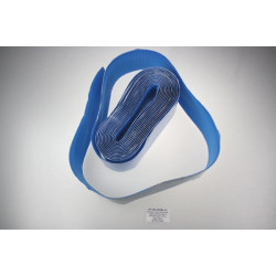Polyester Velcro Blue Peel-n-stick adhesive side V-STRONG 8cm x 50cm