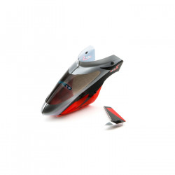 Blade Complete Canopy with Vertical Fin: mSR S (BLH2902)
