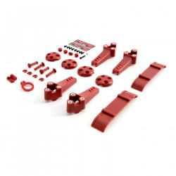 Plastic Kit, Red: Vortex Pro (BLH9213)