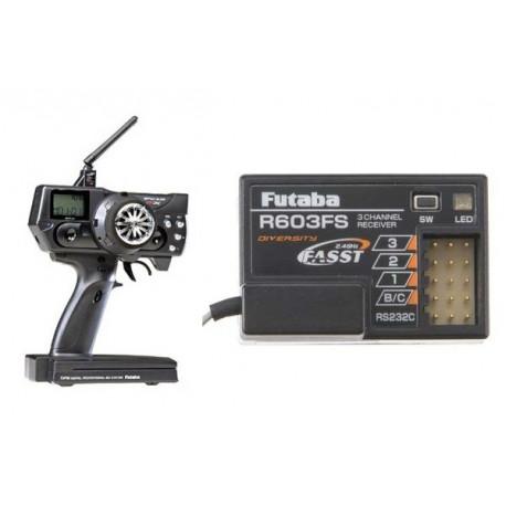 Futaba Megatech 3PMX + Receiver R603FS 2.4Ghz