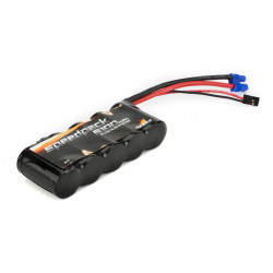 6V 5100mAh NiMh 5C Flat Receiver Pack: 5T (DYN1443)