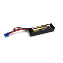 11.1V 1400mAh 3S 30C LiPo, Long w/EC3: Minis (DYN1477)