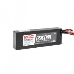 7.4V 5000mAh 2S 20C LiPo Hardcase: EC3 (DYN9004EC)