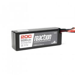 Reaction 11.1V 5000mAh 3S 20C LiPo Hard Case:Deans (DYN9006D)