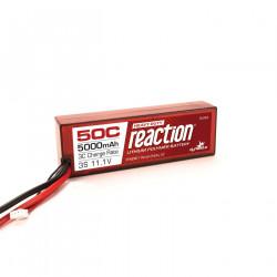 Reaction 11.1V 5000mAh 3S 50C LiPo, Hardcase: EC5 (DYNB3811EC)