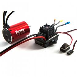 Tazer 1/10 6-pole 3300Kv WP ESC/Motor Combo V2 (DYNS0600)