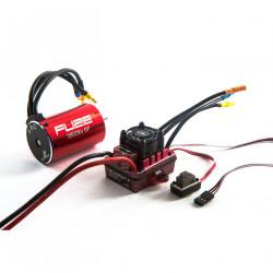 Fuze 1/10 6-pole 3800Kv WP ESC/Motor Combo, SCT V2 (DYNS0706)