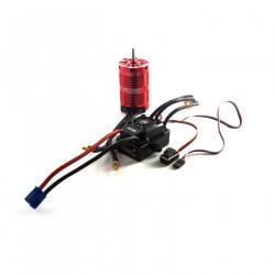 Fuze 1/8 6-pole 1800Kv WP ESC/Motor Combo V2 (DYNS0800)