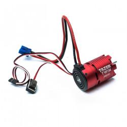 Tazer Twin Brushless Motor/ESC Combo: 2WD, 3000kv (DYNS1450)