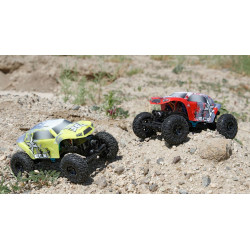 Temper 1:24 Rock Crawler: Yellow/White RTR (ECX00012T2)