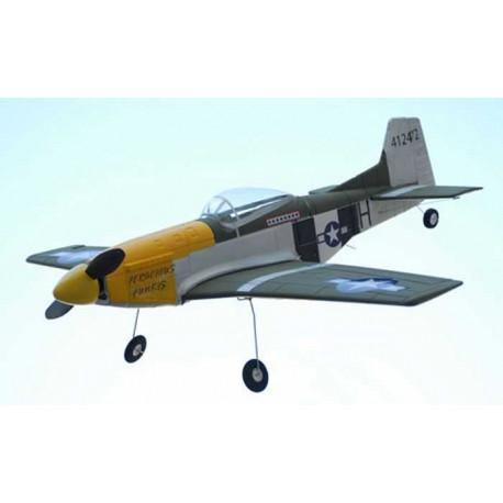 P-51D Mustang - Brushless (2.4Ghz Mode 2) (501)