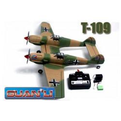 Messerschmitt T-109 (35Mhz Mode 2) (606)
