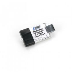 250mAh 20C 1-Cell 3.7V LiPo (EFLB2501S20)