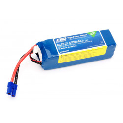 4400mAh 6S 22.2V 30C LiPo, 10AWG EC5 (EFLB44006S30)
