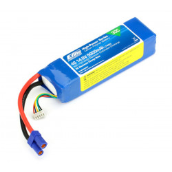 5000mAh 4S 14.8V 30C LiPo, 10AWG EC5 (EFLB50004S30)