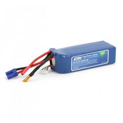 5000mAh 6S 22.2V 30C LiPo 10AWG EC5 (EFLB50006S30)