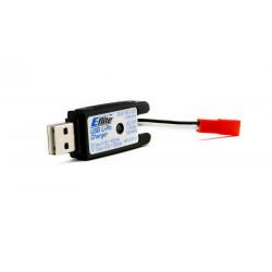 1S USB Li-Po Charger, 500mA, JST: 180 QX HD (EFLC1010)