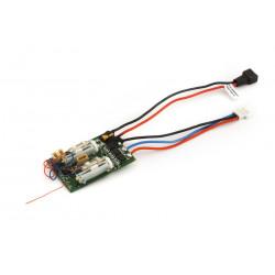 DSM2 6 Ch Ultra Micro AS3X Receiver BL-ESC (EFLU4864)