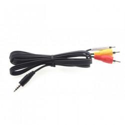 RCA AV Cable, 1.2m 3.5mm, Female (FSV2004)