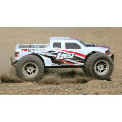 TENACITY Monster Truck, White, AVC: 1/10 4WD RTR (LOS03012T1)