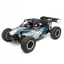 Desert Buggy XL-E: 1/5th 4wd Eletric RTR - Grey (LOS05012T2)