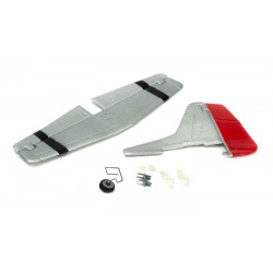 Complete Tail w/Accessories: UM P51D Mustang AS3X (PKZU2425)