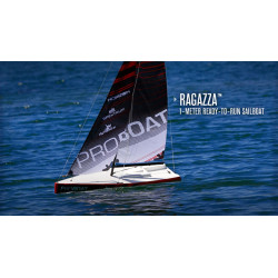 Ragazza 1 Meter Sailboat V2: RTR (PRB07003)