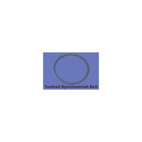 toothed synchromesh belt