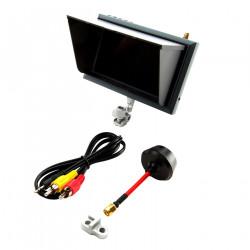 Spektrum 4.3 inch video monitor, sunshade, mount (SPMVM430)