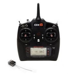 Émetteur DX6 G3 6 voies DSMX avec récepteur (SPM6755EU)