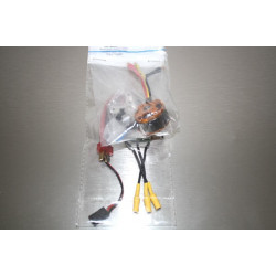 Brushless Motor 2208 1000KV and 18A esc