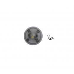 Q500 4K LED blanche avant (sous moteur) et cache gris (YUNQ4K119)