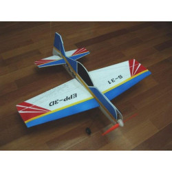 SU-31 - EPP AIRPLANE MODEL (unbreakable version) - ARTF