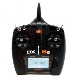 DX6e 6-Channel DSMX Transmitter Only (SPMR6650EU)