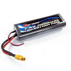 CARISMA LIPO BATTERY 7.4V 2000MAH 25C (XT60 CONNECTOR)