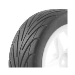FASTRAX 1/10TH MOUNTED BUGGY TYRES LP ARROW FRONT