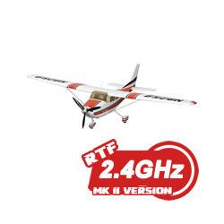 FMS CESSNA 182 RTF w/2.4ghz 1400mm SPAN - NEW MK2