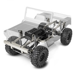 GMADE 1/10 GS01 SAWBACK 4WD SCALE CRAWLER KIT