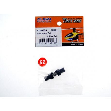 T-Rex 250 - New Metal Tail Holder Set/Black (H25095TA)