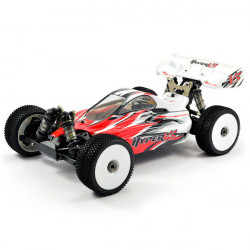 HOBAO HYPER VS 1/8 RTR BUGGY RED 100A ESC - SAVOX - 2.4ghz