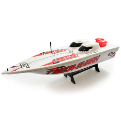HOBBY ENGINE PREMIUM LABEL 2.4G TIGER SHARK SPEED BOAT