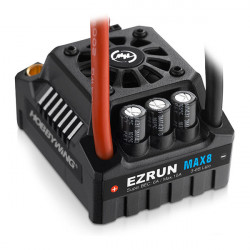 HOBBYWING EZRUN MAX8 V3 TRX- PLUG WATERPROOF SPEED CONTROL