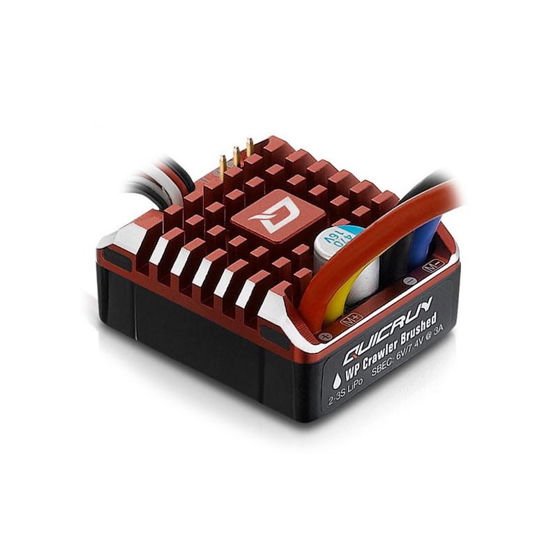 HW30112750-HOBBYWING QUICRUN 80AMP WP BRUSHED CRAWLER ESC