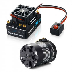 HOBBYWING COMBO (B) XR8-SCT ESC and 3652SD D5.00 3800 MOTOR