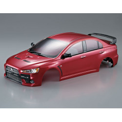 KILLERBODY MITSUBISHI LANCER EVO X FINISHED BODY OXIDE-RED