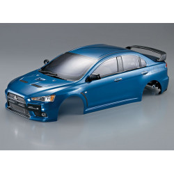KILLERBODY MITSUBISHI LANCER EVO X FINISHED BODY MET-BLUE