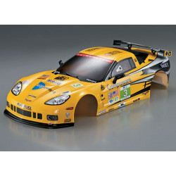 KILLERBODY CORVETTE GT2 190MM YELLOW FINISHED BODY