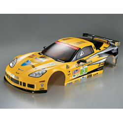 KILLERBODY CORVETTE GT2 1/7 FINISHED BODY RALLY-RACING